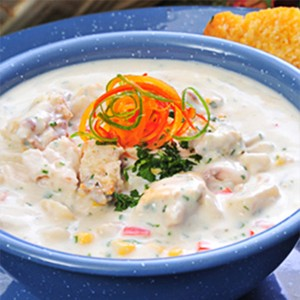 Country Mullet Chowder